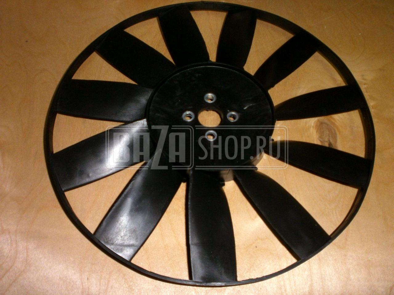 Вентилятор под гидромуфту (метал, 4 лопастн )